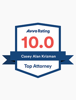Top Rated Attorney Casey Krizman